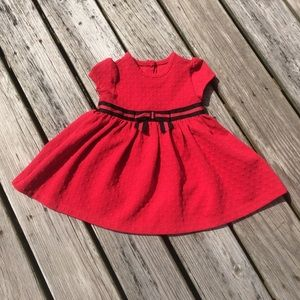 Little Me Red Party Dress Size 2
